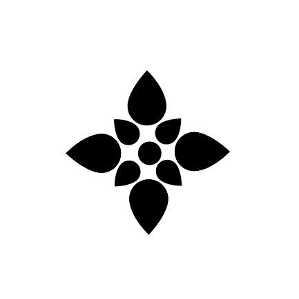 Simple Flower Icon Fleur icons - louise kiernanReal Flower Icons