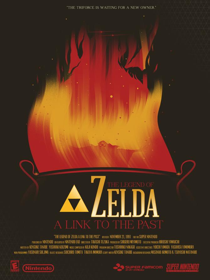 Breath Of The Wild Dark Link >> The Legend of Zelda - Marinko Milosevski Illustration and ...